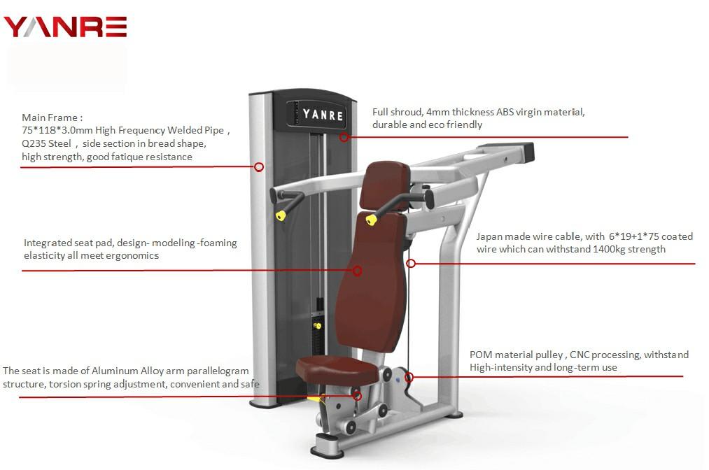 Seated Shoulder Press 1