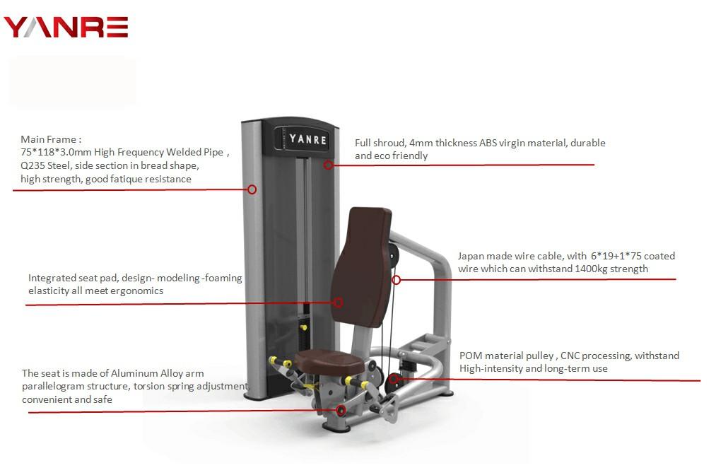 Pull Up Shoulder (Seated Shrug Machine) 1