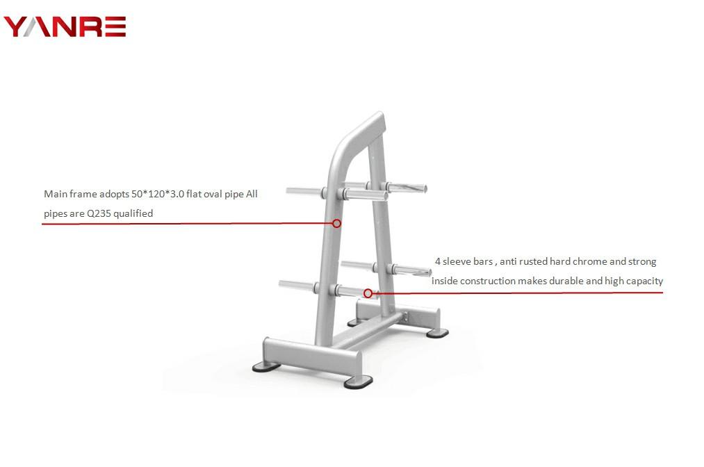 Weight Plate Rack 1