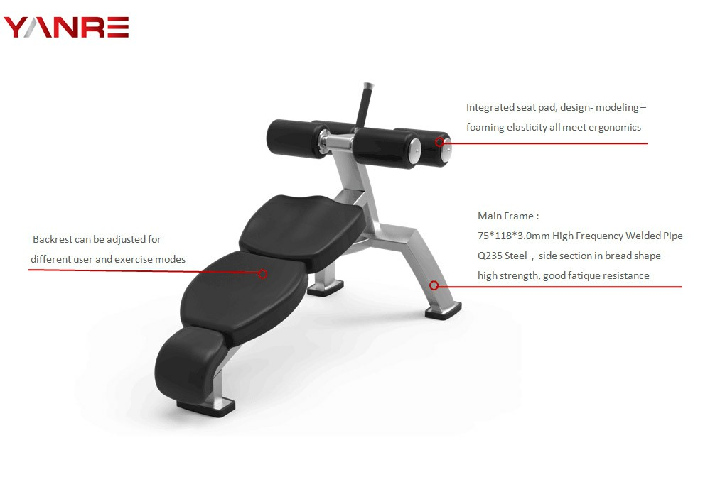 Fixed Angle Sit-Up Bench 1
