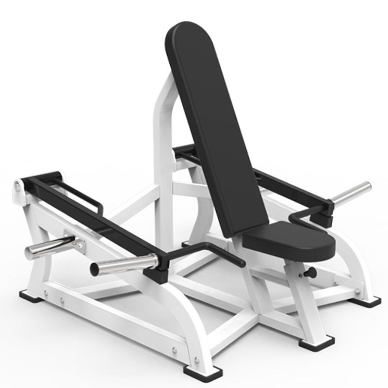 82 Plate loaded Seated shrug 82027 gym fitness equipment yanrefitness 1
