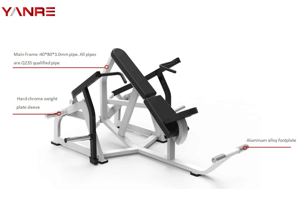 Plate loaded Iso-Lateral Super Incline Press 1