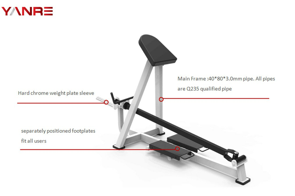 Plate Loaded Standing Pull Back 1
