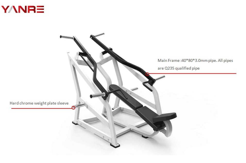Iso-lateral Incline Chest Press 1
