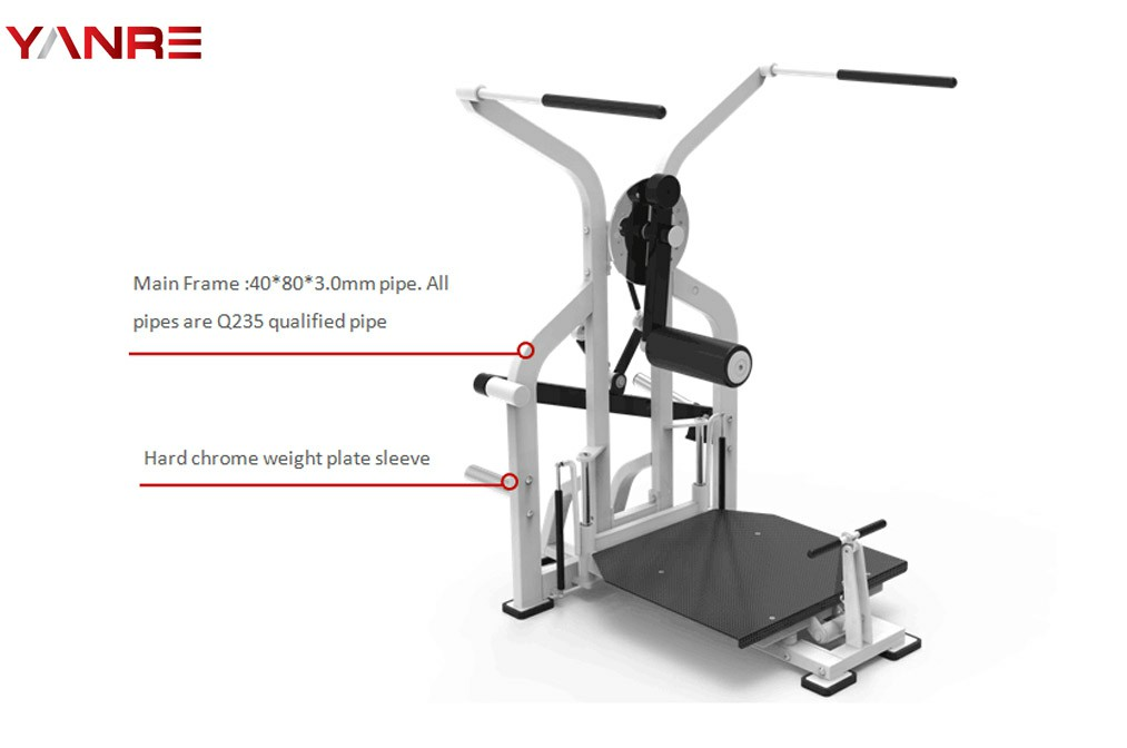 Plate Loaded Hip Trainer 1