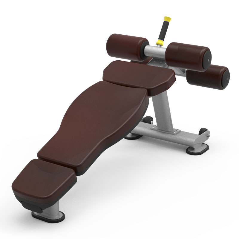 Fixed-Angle-Sit-Up-Bench-61A42-gym-fitness-equipment-yanrefitness