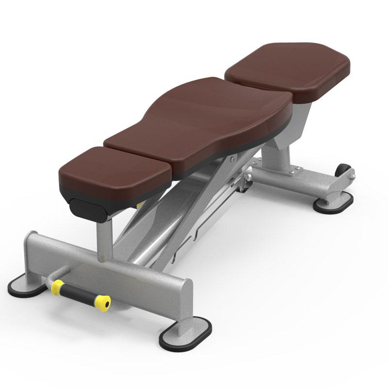 Flat-Incline-Adjustable-Bench-61A46-gym-fitness-equipment-yanrefitness