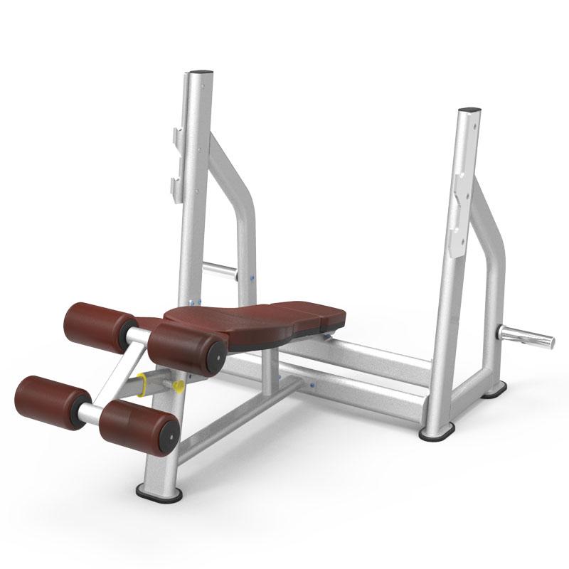 Olympic-Decline-Bench-61A40-gym-fitness-equipment-yanrefitness