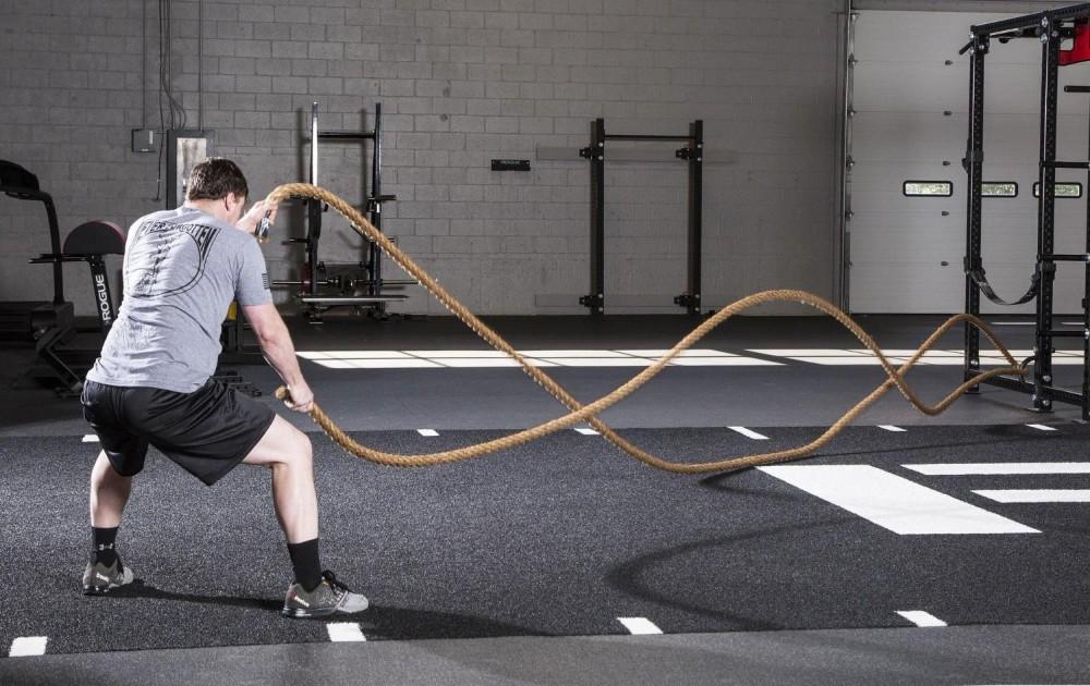 Jute battle rope 1