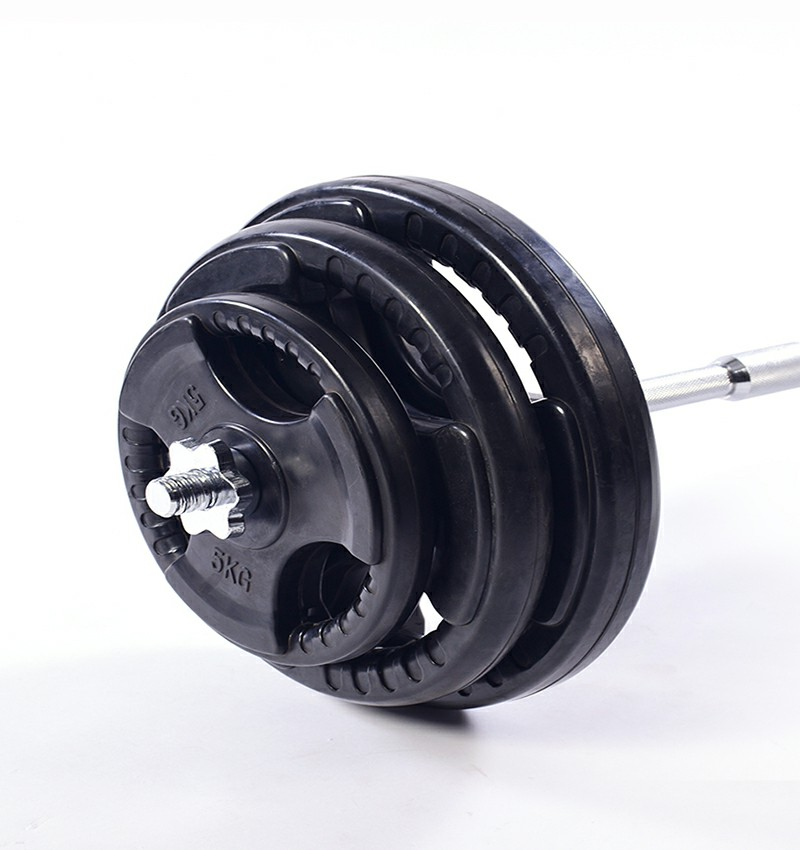 Trigrip Rubber Coated Weight Plate 1