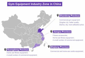 top 10 gym equipment manufactures in china main gym equipment industry regions