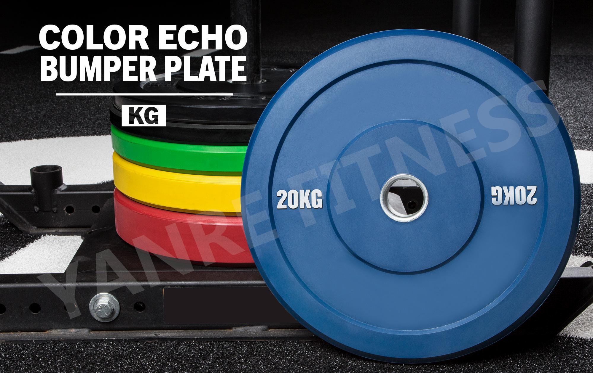 Yanre-fitness-gym-equipment-crossfit-Rubber-Bumper-Plates(multicolorBPR002M-2