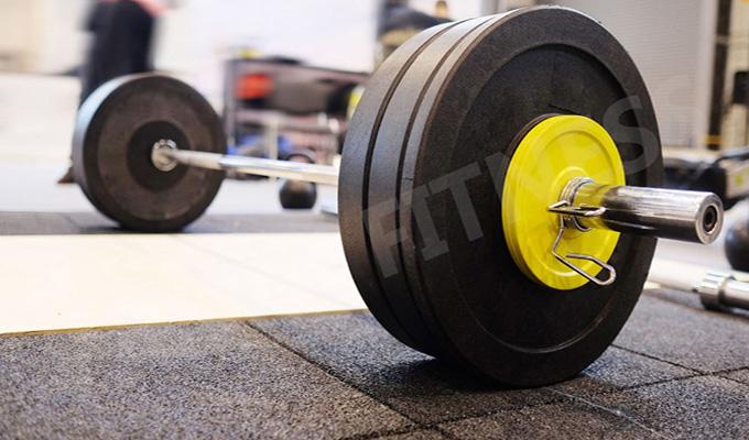 Yanre-fitness-gym-equipment-crossfit-Rubber-Bumper-Plates-BPR001-2-1