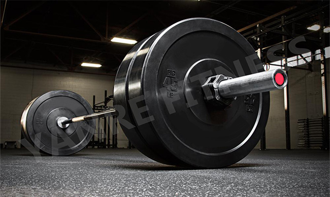 Yanre-fitness-gym-equipment-crossfit-Rubber-Bumper-Plates-BPR001-3