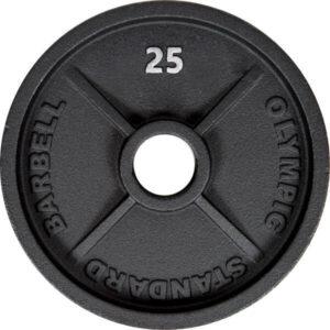 Plaque de poids à trous de 2 pouces