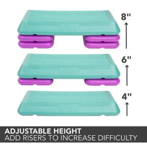 hauteur de marche aérobie