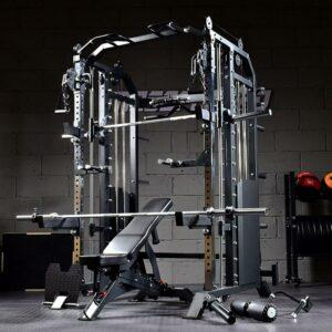 2-KB73-Combo-Power-Rack-With-Smith-Machine-Function-gym-fitness-equipment-sence-yanrefitness