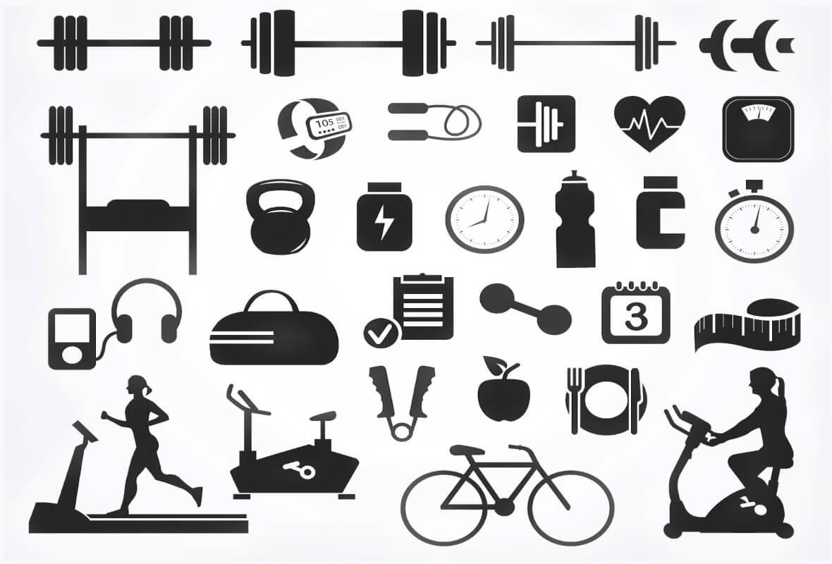 Phòng tập thể dục-Thiết bị-Phụ kiện-Tên-Hình ảnh-Giá-Danh mục