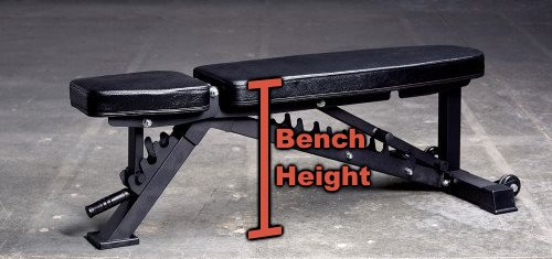 Commercial Adjustable Weight Bench 14
