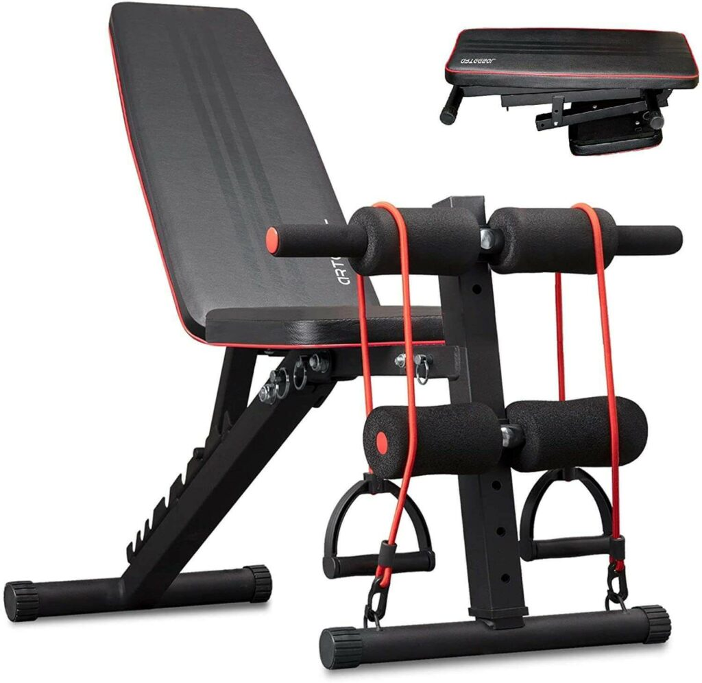 Commercial Adjustable Weight Bench 10
