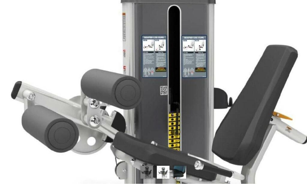 Commercial Leg Extension Curl Machine 7