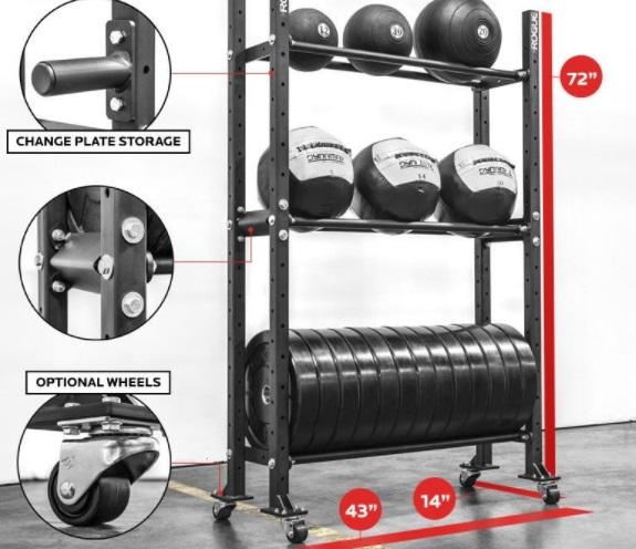 Gym Storage Rack 1
