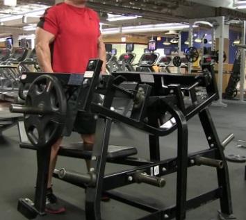 Hammer Strength Shrug 12