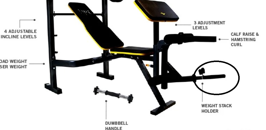 Commercial Workout Bench 19