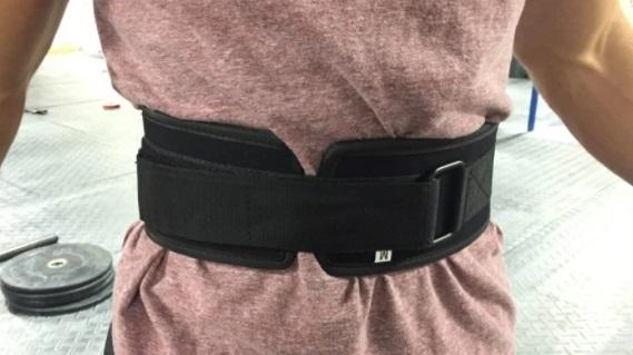 Custom Weightlifting Belt 11