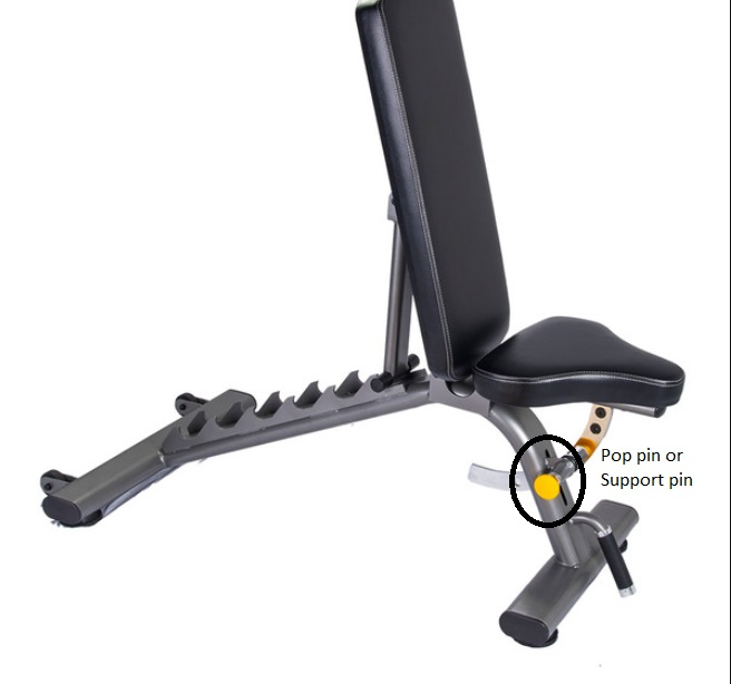 Commercial Workout Bench 20