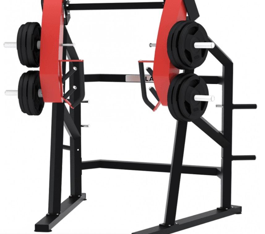 Standing Chest Press Machine 11