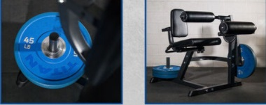Commercial Leg Extension Curl Machine 21
