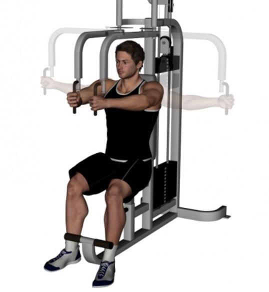 Butterfly Exercise Machine 21