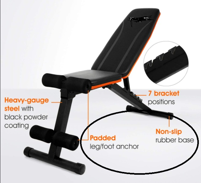 Commercial Workout Bench 24