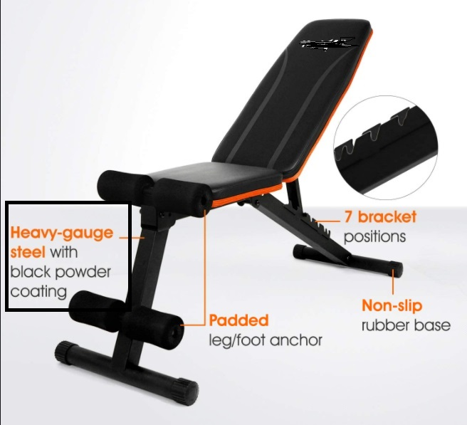 Commercial Workout Bench 25