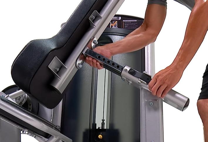 Commercial Leg Extension Curl Machine 24