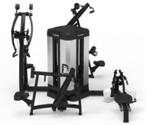 Fig 19 - A multi gym for back exercises 3