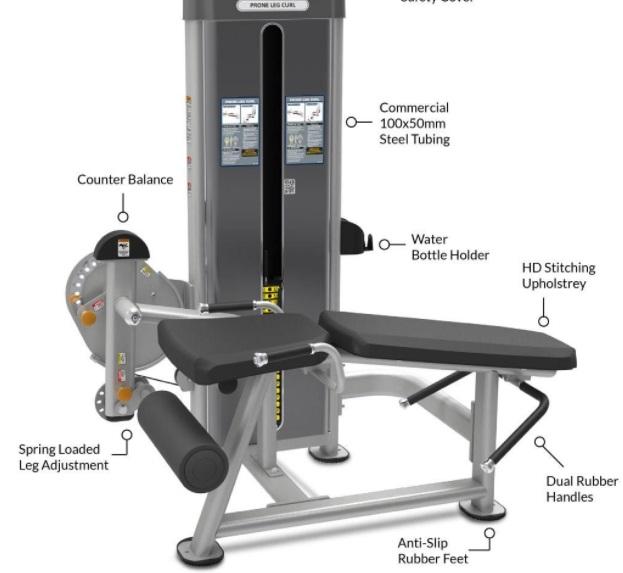 Commercial Leg Extension Curl Machine 8