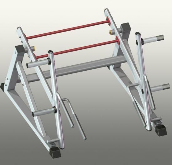 Standing Shrug Machine 8