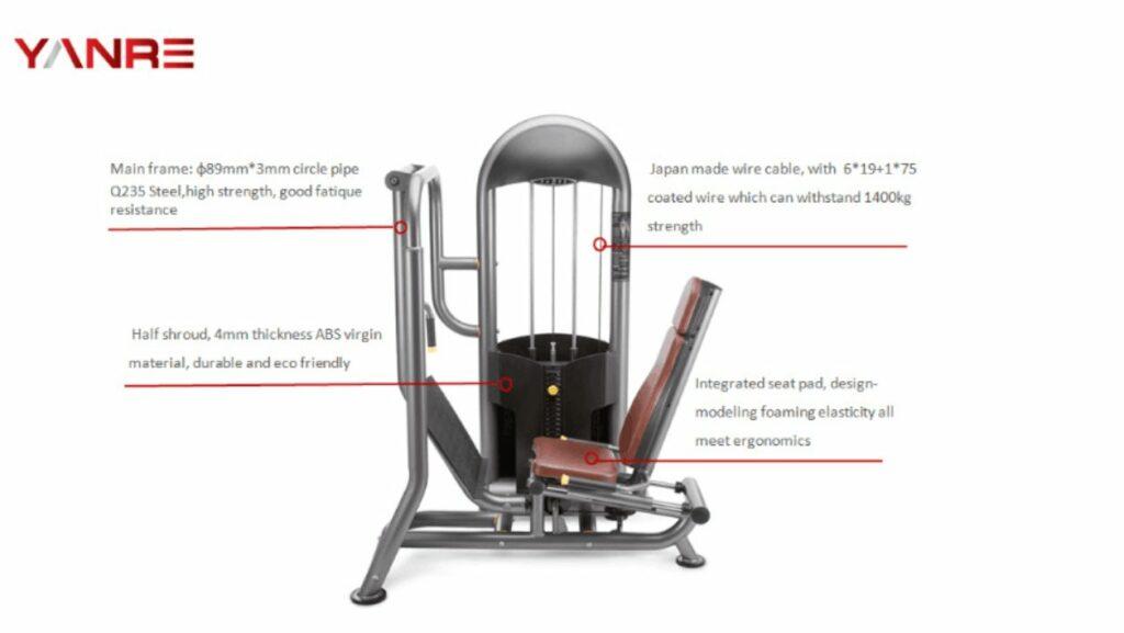 Seated Leg Press 7