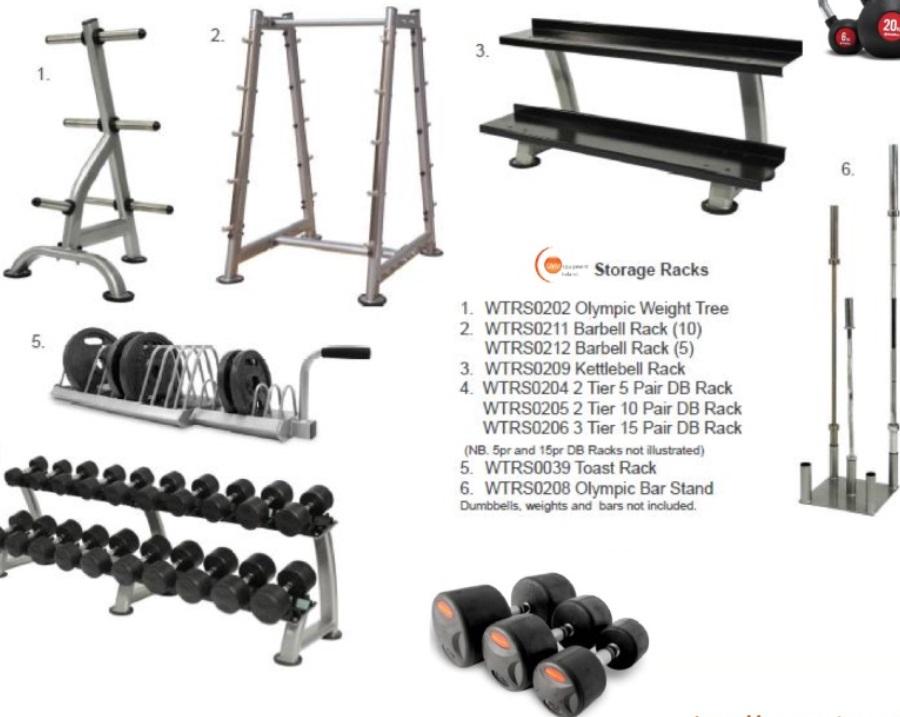 Gym Storage Rack 2