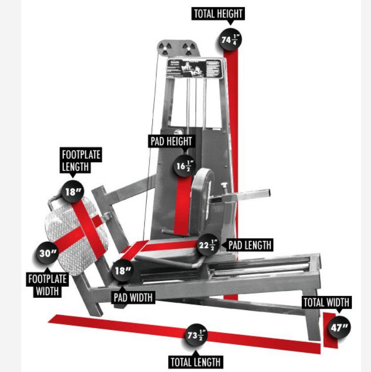 Seated Leg Press 8