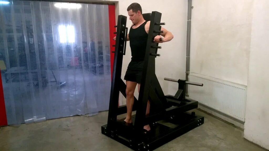 Standing Chest Press Machine 3