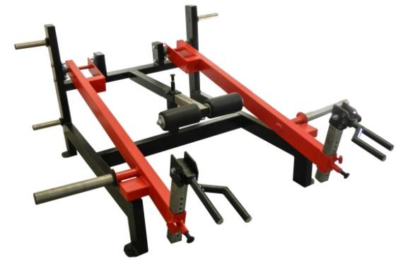 Standing Shrug Machine 11