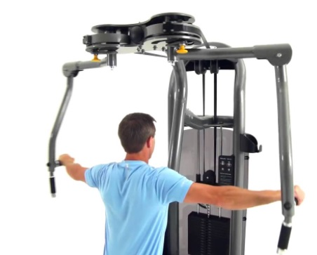 Butterfly Exercise Machine 9