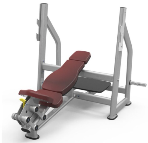 Commercial Incline Bench 1