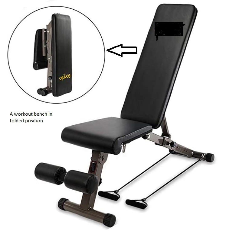 Commercial Workout Bench 14