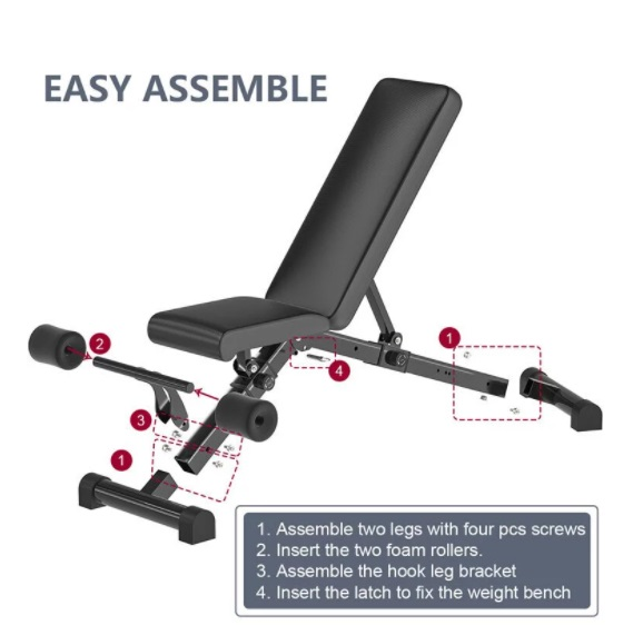 Commercial Workout Bench 15