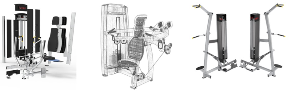 Hammer Strength Commercial Gym Equipment 12