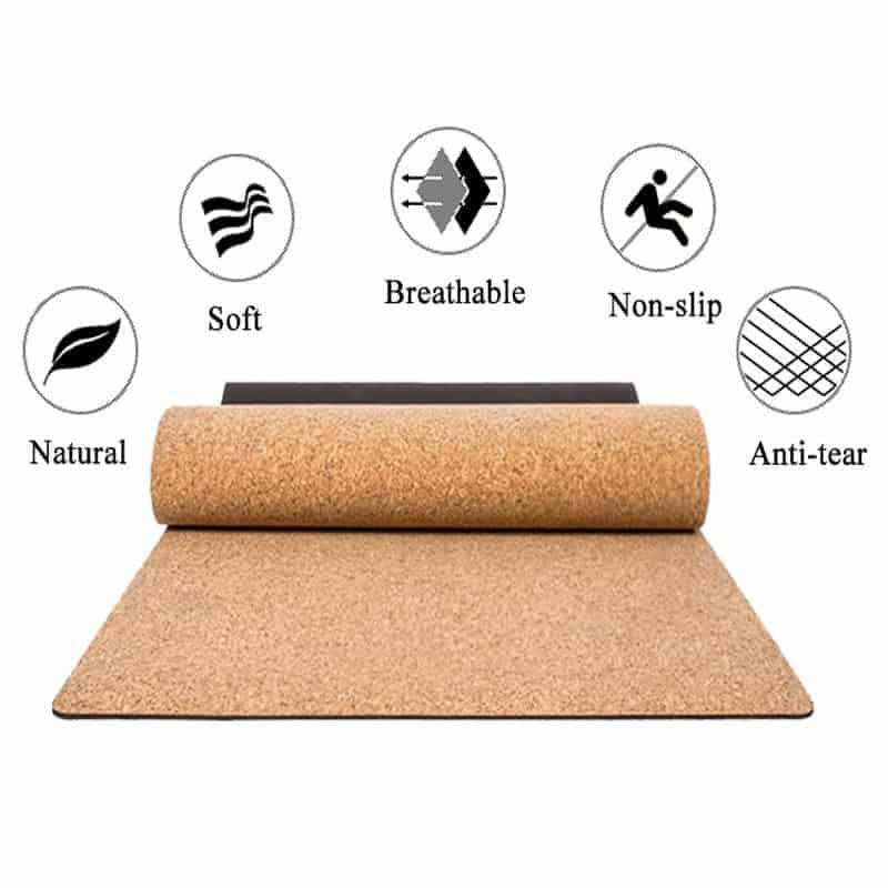 Wholesale Cork Yoga Mat 8
